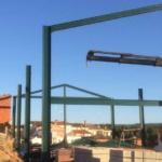 Estructuras metálicas para vivienda. Castilla-La Mancha