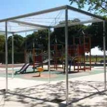 Pergolas modulares galvanizadas Valencia